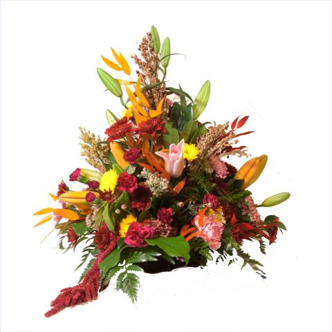 Medium Anniversary Arrangement from the Port Alberni Flower Shop Azalea Flowers & Gifts