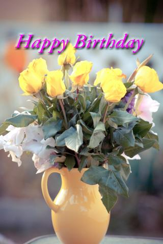 Happy Birthday Gift Cards from the Port Alberni flower shop Azalea Flowers & Gifts